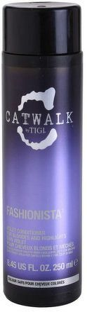 TIGI Catwalk Fashionista Violet Conditioner Kondicionér pro blond a světlé vlasy 750 ml