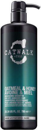 TIGI Catwalk Oatmeal & Honey Nourishing Shampoo Šampon na poškozené, barvené vlasy 750 ml