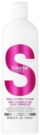 TIGI S-Factor True Lasting Colour Conditioner Ochranný kondicionér pro barvené vlasy 750 ml