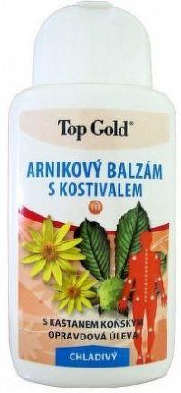 TOP GOLD Arnikový balzám s kostivalem-chlad.200ml