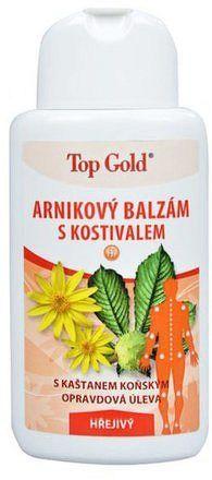 TOP GOLD Arnikový balzám s kostivalem-hřej. 200ml