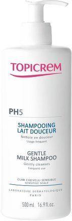 Topicrem PH5 Jemné šampónové mléko 500ml