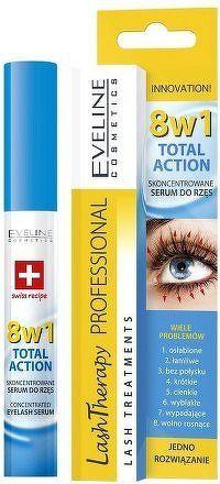 Total Action sérum na řasy 8v1