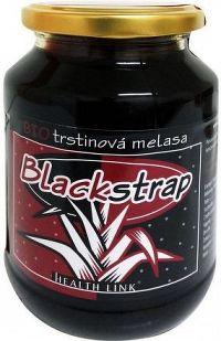 Třtinová melasa Blackstrap