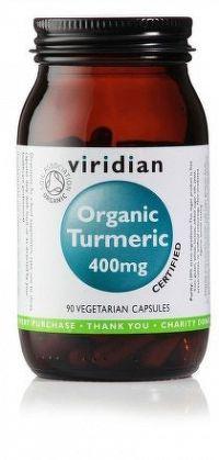 Turmeric 400mg 90 kapslí Organic