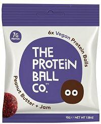 Vegan Protein Balls 45g peanut butter + jam