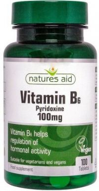 Vitamín B6 - 100mg (pyridoxin) tbl.100