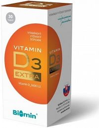 VITAMIN D3 EXTRA 30 tobolek Biomin