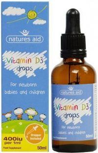 Vitamín D3 kapky pro děti 50ml