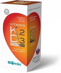 Vitamin K2 + Vitamin D3 2000 I.U. PREMIUM 60 tob.