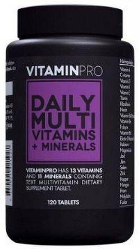 VitaminPro Daily Multi Vitamins 120kps