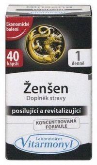 Vitarmonyl Ženšen cps.40