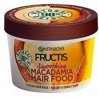 Vyhlazující maska na nepoddajné vlasy Fructis (Macadamia Hair Food) 390 ml