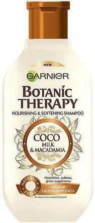 Vyživující a zvláčňující šampon pro suché a hrubé vlasy Botanic Therapy (Coco Milk & Macadamia Shampoo) - 250 ml