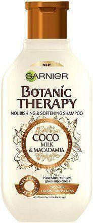 Vyživující a zvláčňující šampon pro suché a hrubé vlasy Botanic Therapy (Coco Milk & Macadamia Shampoo) - 400 ml