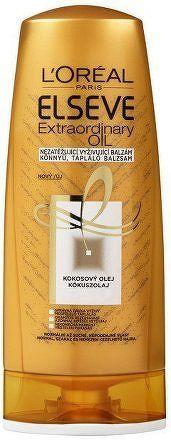 Vyživující balzám s kokosovým olejem na normální a suché, nepoddajné vlasy Elseve (Extraordinary Oil) - 400 ml