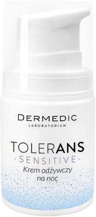 Vyživující noční pleťový krém Dermedic Tolerans 55 g