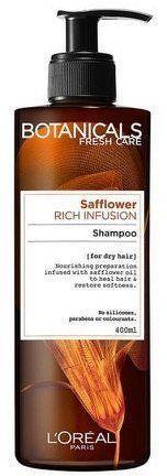 Vyživující šampon na suché vlasy Botanicals (Rich Infusion Shampoo) 400 ml