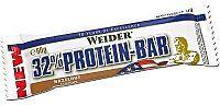 WEIDER, 32% Protein Bar, 60 g, Lískový Ořech