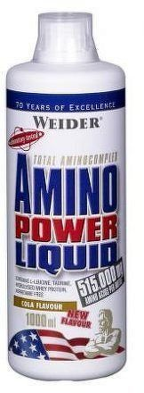Weider, Amino Power Liquid, 1000 ml, Energy