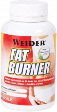 Weider, Fat Burner with Green Tea, 300 kapslí