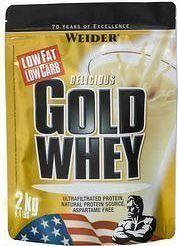 Weider, Gold Whey, 2000 g, Vanilka