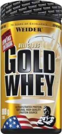 Weider, Gold Whey, 908g, Banana-Split