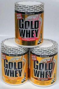 WEIDER GOLD WHEY, syrovátkový protein, 300g, Malina - jogurt