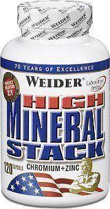 Weider, High Mineral Stack, 120 kapslí