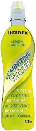 Weider L-Carnitine Water, 500 ml, Lemon-starfruit