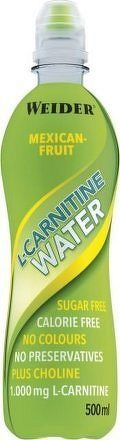 Weider L-Carnitine Water, 500 ml, Mexican-fruit