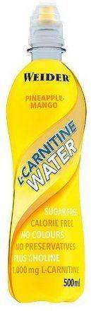 Weider L-Carnitine Water, 500 ml, Pineapple-mango