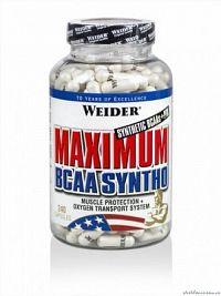 Weider, Maximum BCAA Syntho, 240 kapslí