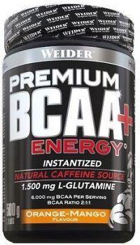 Weider Premium BCAA + Energy Instantized, 500 g, Citron-ledový čaj