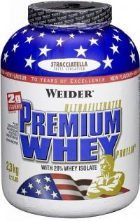 Weider, Premium Whey, 2300 g, Stracciatella