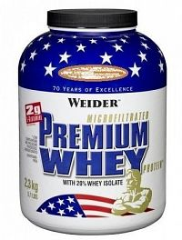 Weider, Premium Whey, 2300 g, Vanilka-Karamel