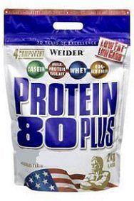 Weider, Protein 80 Plus, 2000 g, Banán