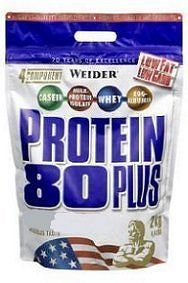 Weider, Protein 80 Plus, 2000 g, Vanilka