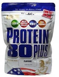 Weider, Protein 80 Plus, 500 g, Apple crumble