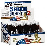 Weider Speed Booster Plus 2, 25 ml, Citrón - Cola