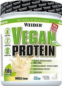 Weider, Vegan Protein, 750g, Vanilla