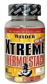 Weider Weider XTREME THERMO STACK 80 kapslí