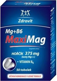 Zdrovit Magnezium+B6 FORTE tob.50