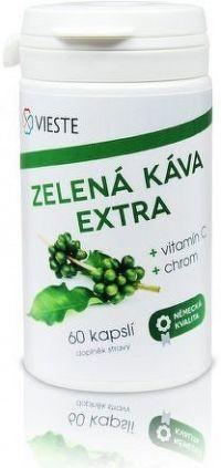 Zelená káva extra s vitaminem C a chromem cps.60