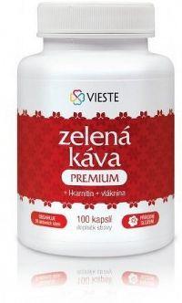 Zelená káva premium s l-karnitinem a vlák.cps.100