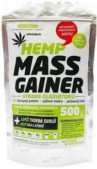 Zelená Země Konopný gainer Fitness 500g