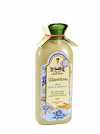 Babička Agafia - Šampon pro všechny typy vlasů; objem a zdravý vzhled – 350 ml