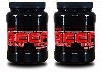 1 + 1 Zdarma: Amino BEEF 5000 od Best Nutrition 500 tbl + 500 tbl