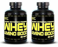 1 + 1 Zdarma: Amino Whey 8000 od Best Nutrition 250 tbl. + 250 tbl.