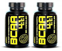 1 + 1 Zdarma: BCAA 4: 1: 1 od Best Nutrition 120 kaps. +  120 kaps.